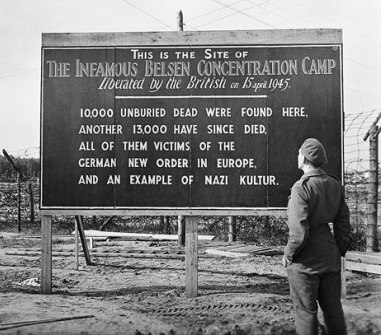 This is the site of the infamous Belsen concentration camp